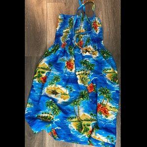 Blue Barbados Summer Dress